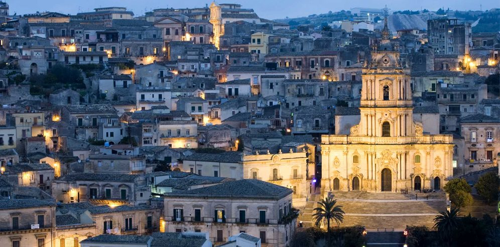 Modica by night, ragusa - luigi nifosi  |  Shutterstock