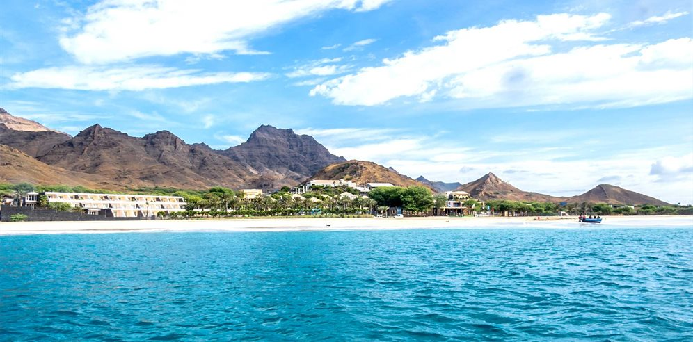 Sao Vicente Coastline with Foya Branca Hotel