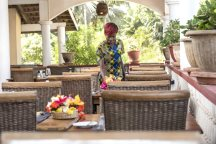 Restaurant at Lemon Creek Hotel, Bijilo, The Gambia