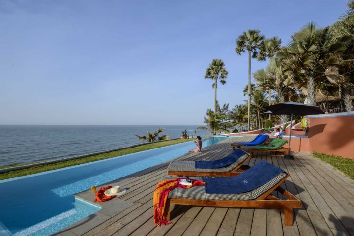 Ngala Lodge - an ideal twin centre holiday combination with one of Gambia's lovely inland hotels