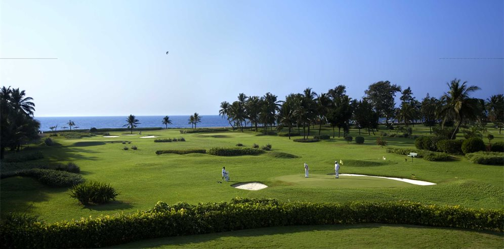 Golf at The Leela, Mobor, South Goa