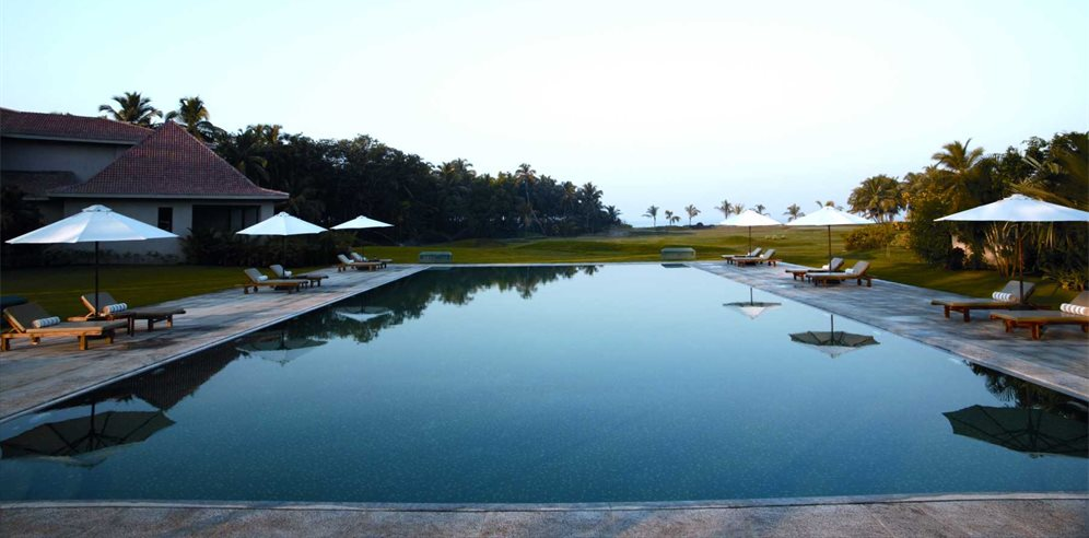 The Club Pool, The Leela, Mobor, South Goa