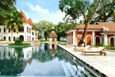 Swimming pool at Grand Hyatt Goa, Bambolim, Central Goa