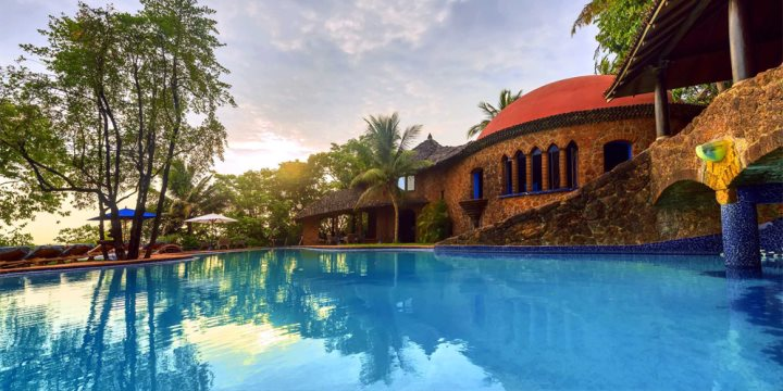 Swimming Pool at Nilaya Hermitage, Arpora, North Goa