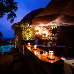 Night time at the Bar at Nilaya Hermitage, Arpora, North Goa