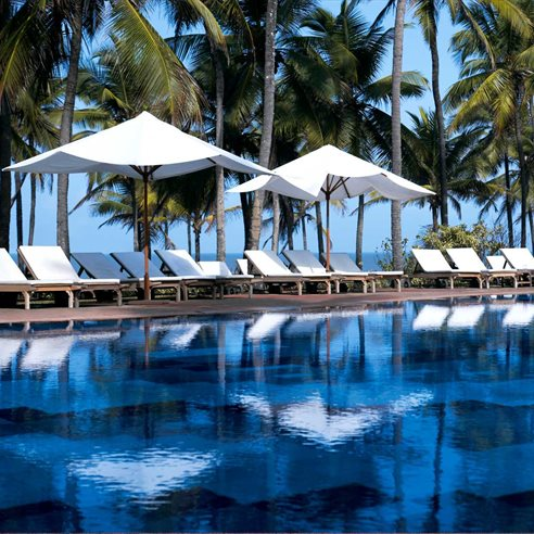 Swimming Pool at Vivanta by Taj Holiday Village, Sinquerim, North Goa