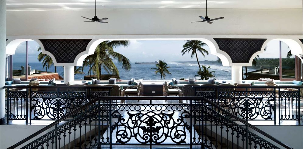 View from the Lobby at Vivanta by Taj Fort Aguada, Sinquerim, North Goa