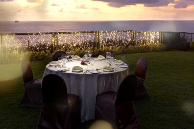 Romantic dining at Vivanta by Taj Fort Aguada, Sinquerim, North Goa