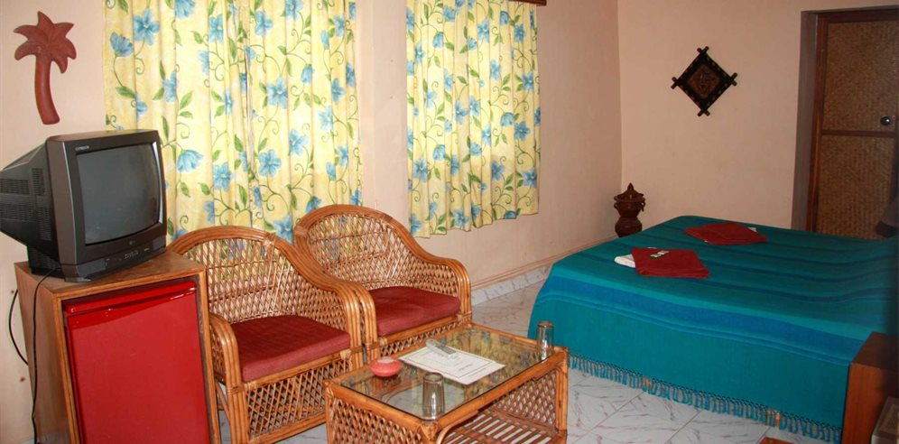 Superior Room at the Chalston Beach Resort, Calangute, North Goa