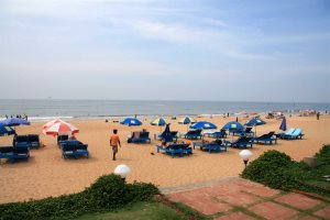Beach at Chalston Beach Resort, Calangute, North Goa