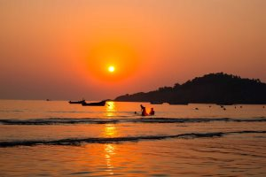 Sunset in Goa - Graur Razvan
