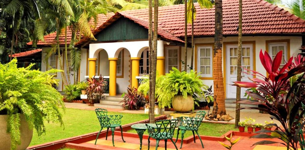 Grounds at Casa Anjuna, North Goa
