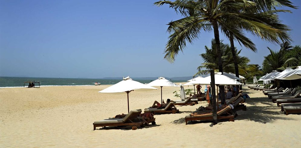 Stunning Beach at Park Hyatt Goa Resort & Spa, Arossim, South Goa