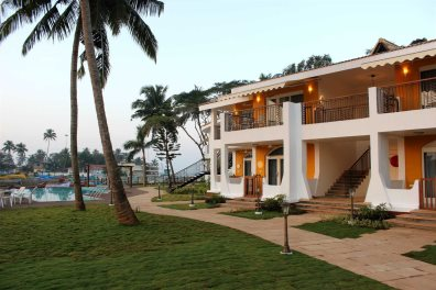 Acron Waterfront Resort, Baga River, North Goa