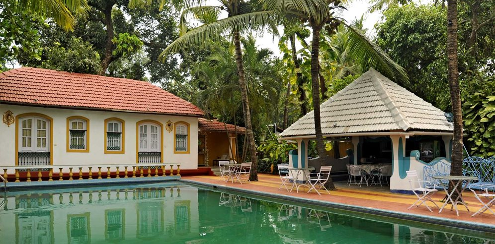 Swimming Pool at Casa Anjuna, North Goa
