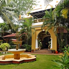 Beautiful Grounds at Casa Anjuna, North Goa