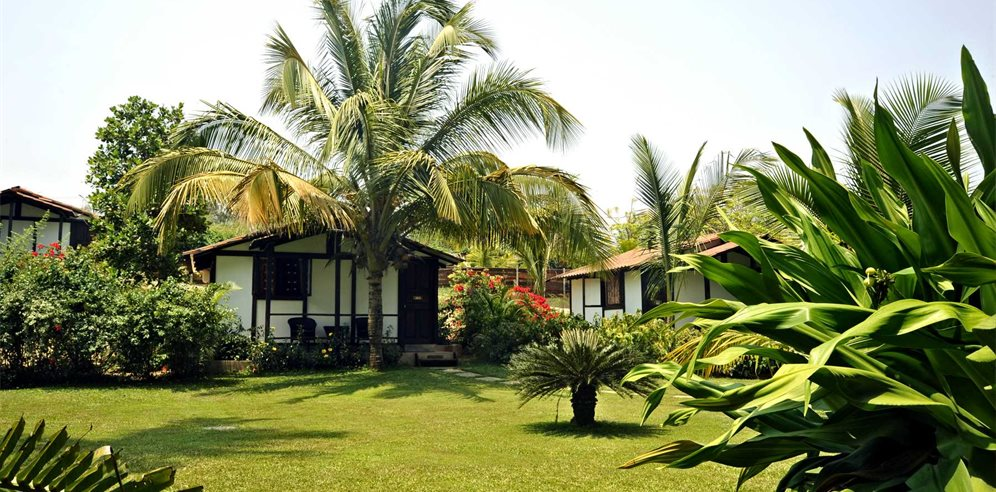 Cottages at the Chalston Beach Resort, Calangute, North Goa