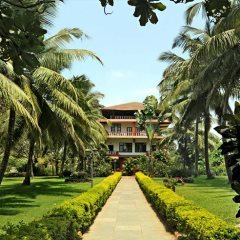 Grounds at the Chalston Beach Resort, Calangute, North Goa