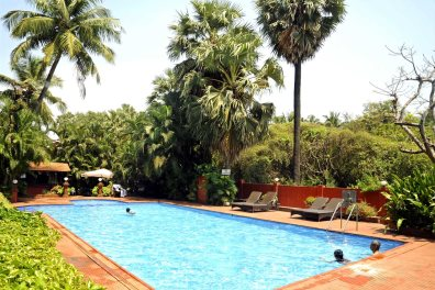 Swimming Pool at the Chalston Beach Resort, Calangute, North Goa