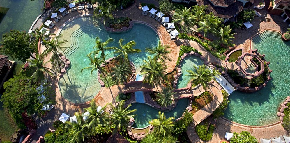 Aerial View of Park Hyatt Goa Resort & Spa, Arossim, South Goa