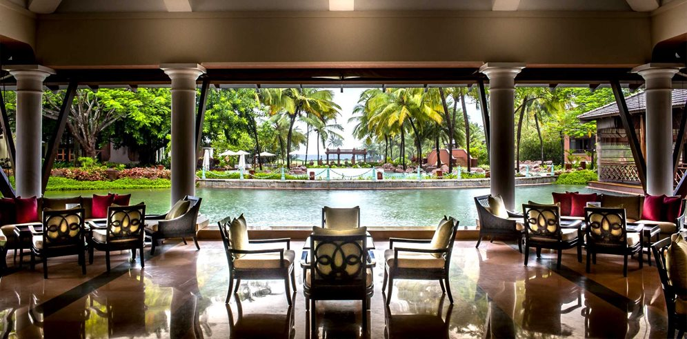 Views from the Lobby, Park Hyatt Goa Resort & Spa, Arossim, South Goa
