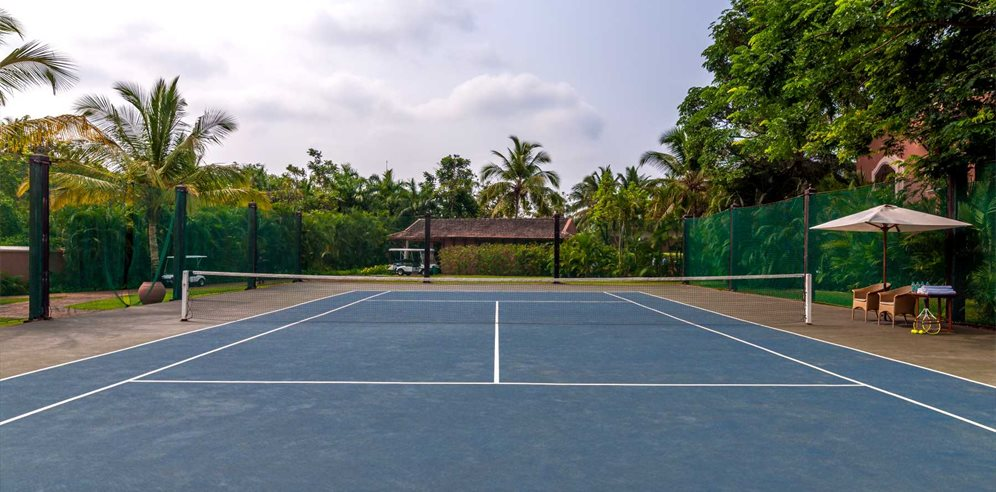 Tennis Courts, Park Hyatt Goa Resort & Spa, Arossim, South Goa