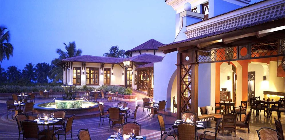 Dining at the Village Square, Park Hyatt Goa Resort & Spa, Arossim, South Goa