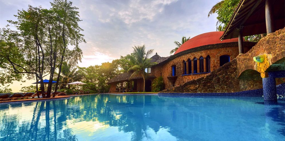 Inviting Swimming Pool at Nilaya Hermitage, Arpora, North Goa