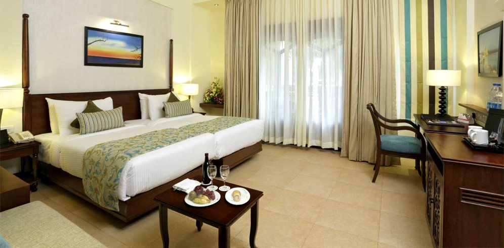 Deluxe Garden Facing Room at Country Inn & Suites Candolim, North Goa