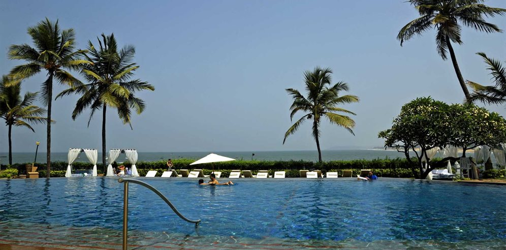Swimming pool at Vivanta by Taj Fort Aguada, Sinquerim, North Goa