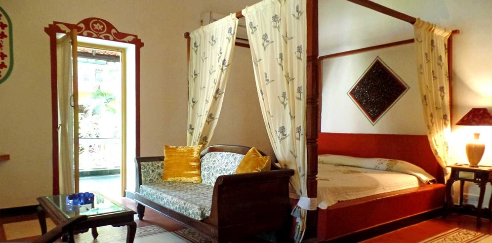 Beautiful rooms at Casa Anjuna, North Goa