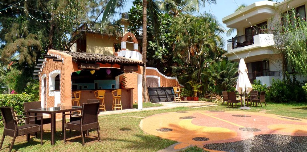 Grounds at Sonesta Inns, Candolim, North Goa