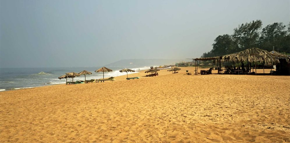 Nearby beach at Sonesta Inns, Candolim, North Goa
