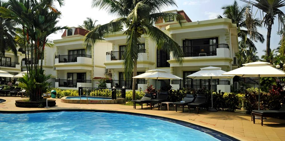 Pool Area at Sonesta Inns, Candolim, North Goa