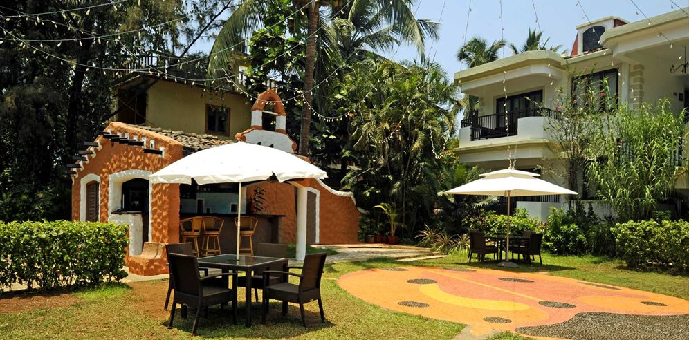 Quaint Grounds at Sonesta Inns, Candolim, North Goa