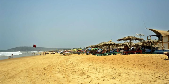 Beach Shacks near Goan Heritage, Calangute