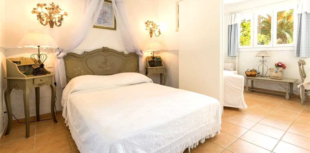 Bedroom Area 1 Bedroom Apartment 26/28m² - Le Home - Calvi & la Balagne