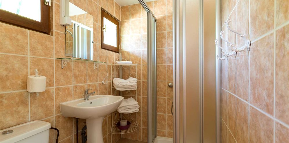 Bathroom - 1 bedroom apartment 26/28m²