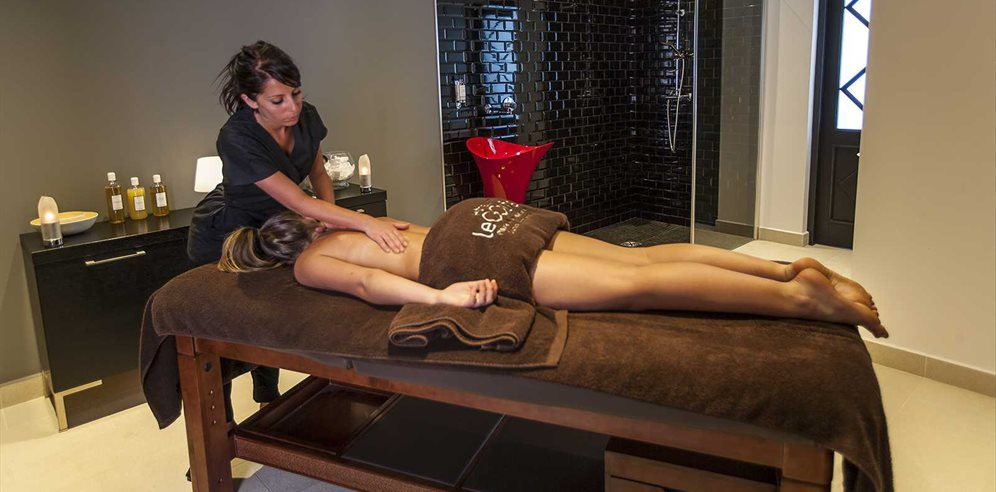 Enjoy a massage in the Spa
