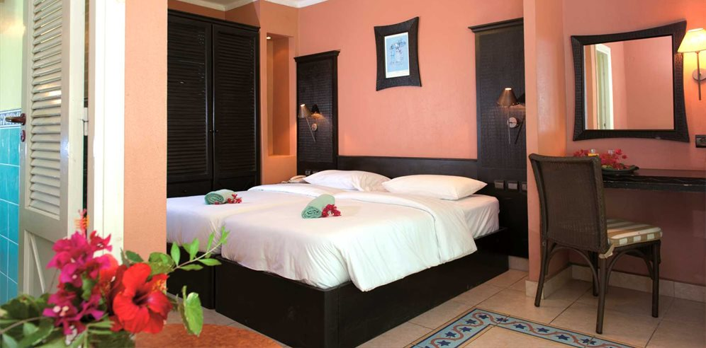 Standard air-conditioned room at Senegambia Hotel