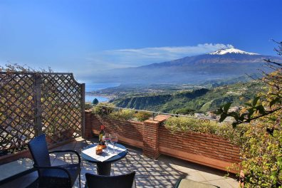 Glorious Terrace views at Villa Angela