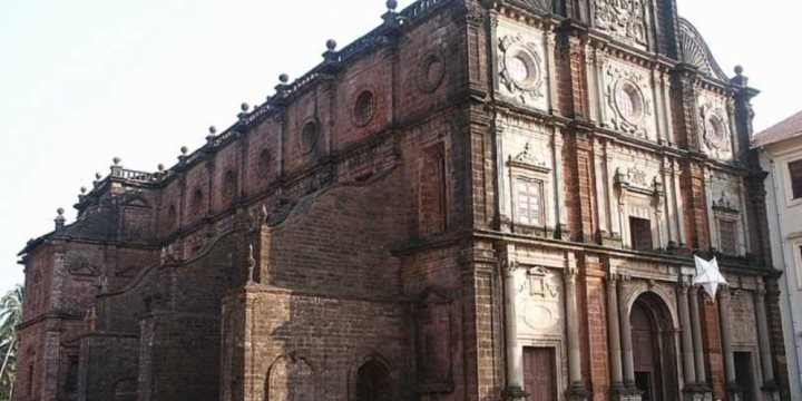 Basilica of Bom Jesus, old Goa, where catholics celebrate St. Francis Xavier.  - Ramesh Lalwani