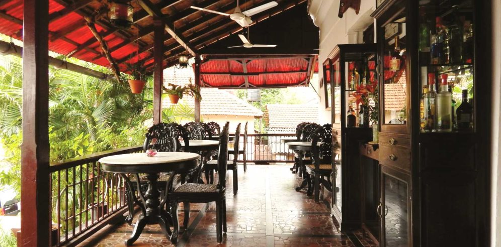 Veranda Restaurant at Panjim Inn