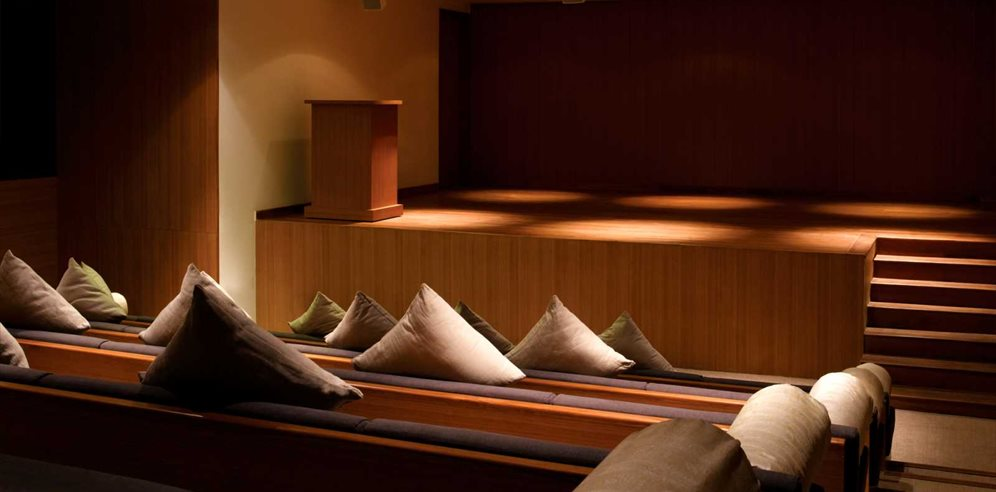 Cinema room at Alila Diwa, Majorda, South Goa