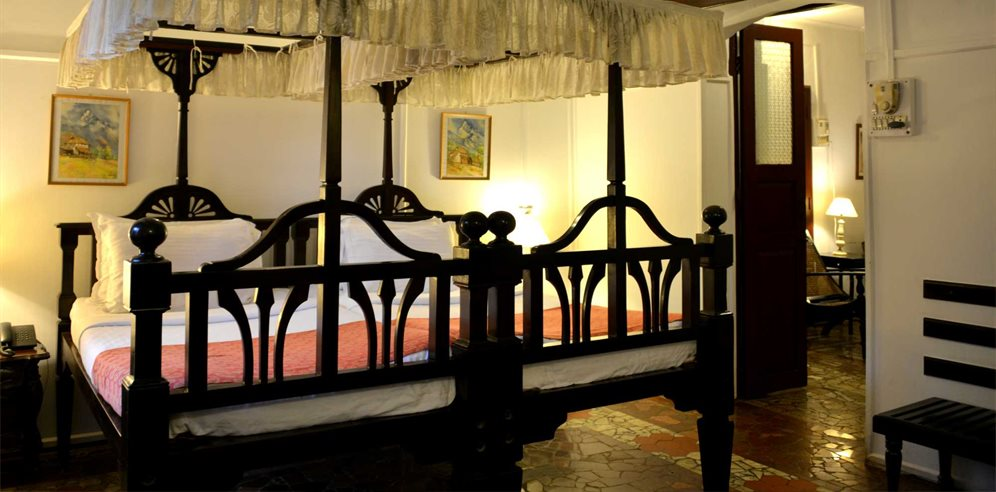 Superior room at Panjim Inn, Panjim, Central Goa