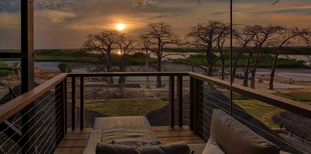 Baobab 'Treehouse' Suite Terrace & Views