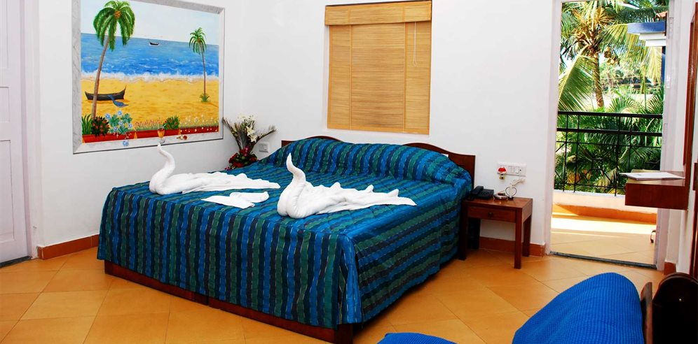 Standard room at Santana Beach Resort, Candolim, North Goa