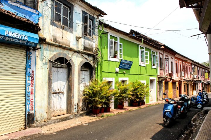 The Latin Quarter of Panjim - Fontainhas