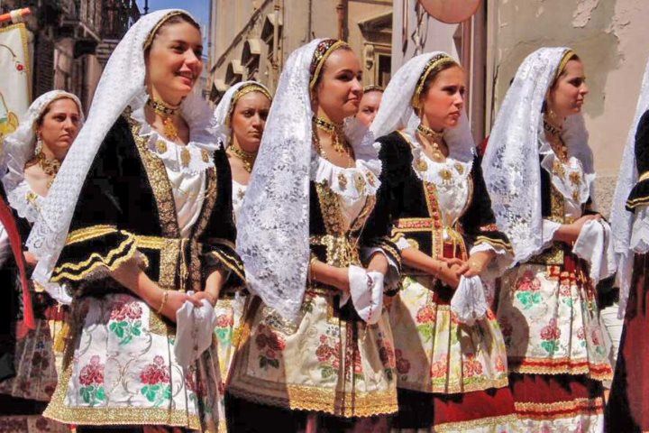 traditional costume Sardinia
