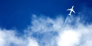 Image of airplane flying in the sky - Oriontrail | Shutterstock